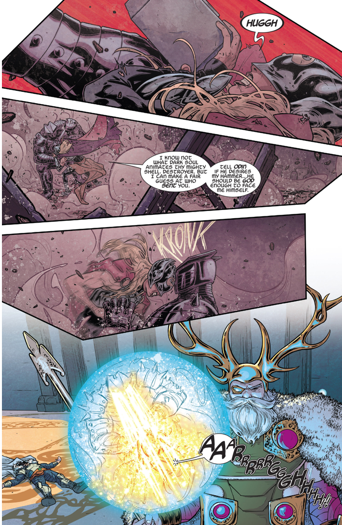 Thor (Jane Foster) VS The Destroyer Armor