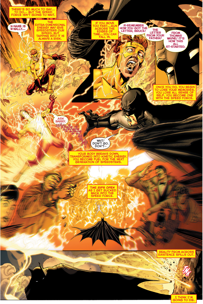 Wally West Tries To Warn Batman (Rebirth)