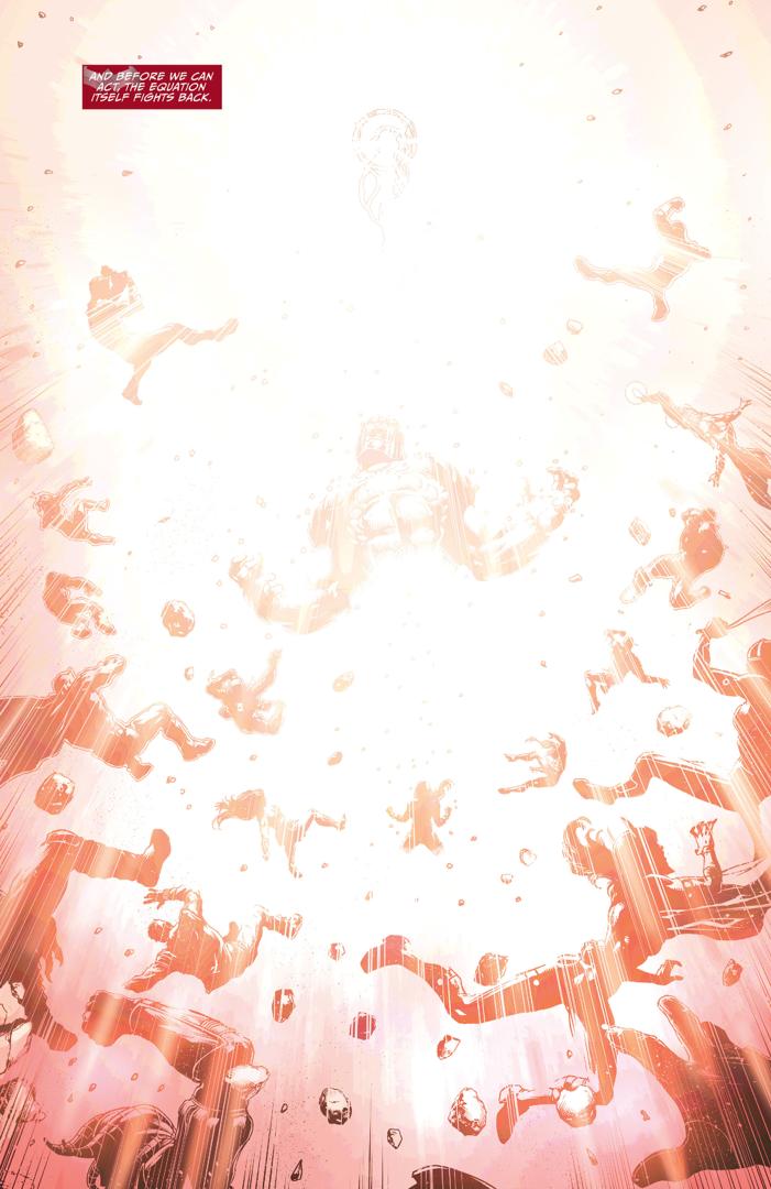 Wonder Woman Defeats Grail And Darkseid (Darkseid War)
