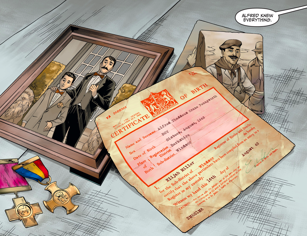 Alfred Pennyworth's Birth Certificate (Injustice Gods Among Us)