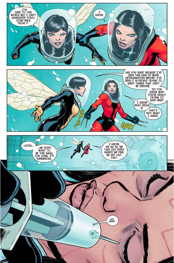 All New Wolverine Wearing The Ant-Man Suit