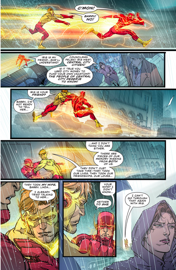 Barry Allen Remembers Wally West (The Flash Rebirth)