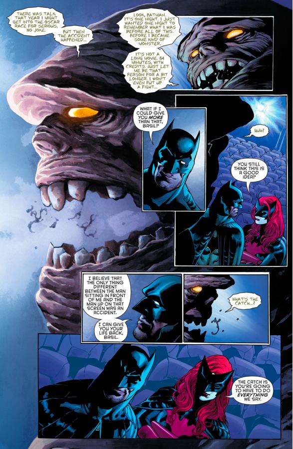 Batman Recruits Clayface (Rebirth)