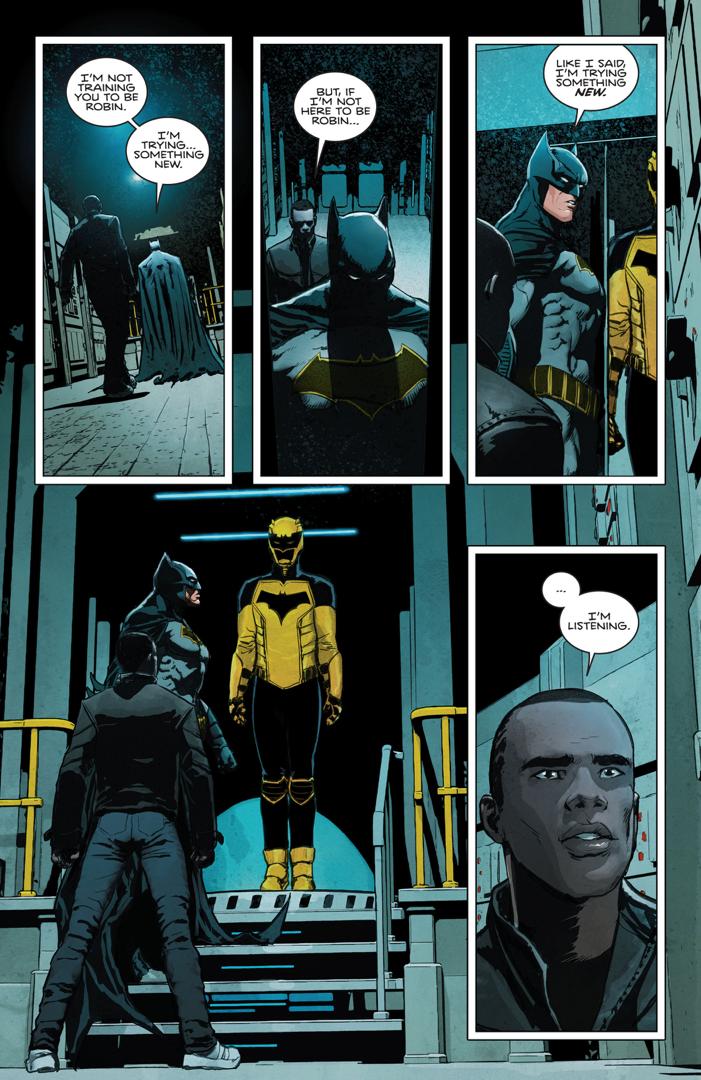 Batman Recruits Duke Thomas