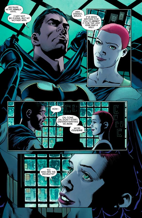 Batman Reveals His Identity To Batwoman