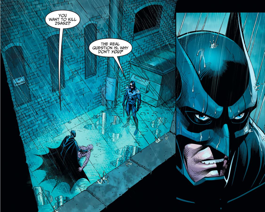 Batman VS Nightwing Damian Wayne (Injustice Gods Among Us)