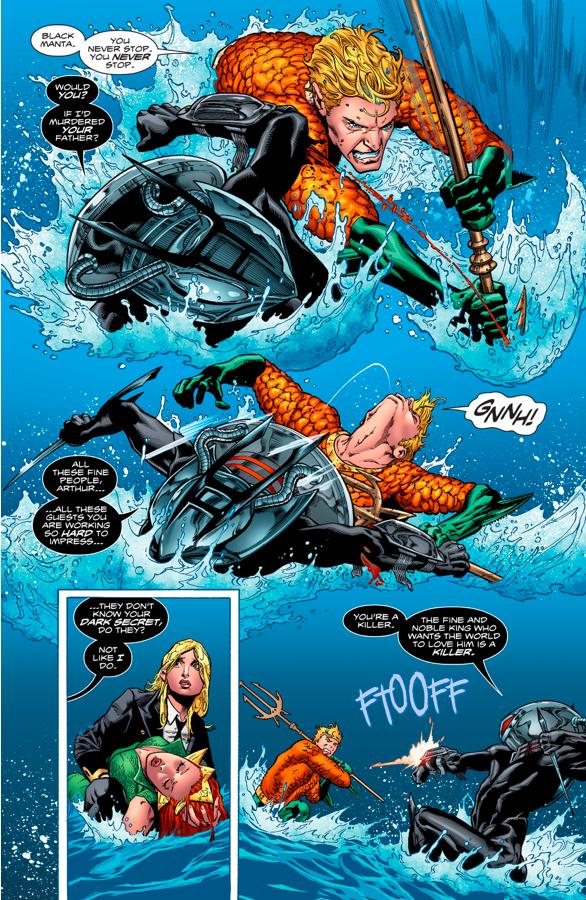 Black Manta VS Aquaman And Mera (Aquaman Vol. 8 #1)