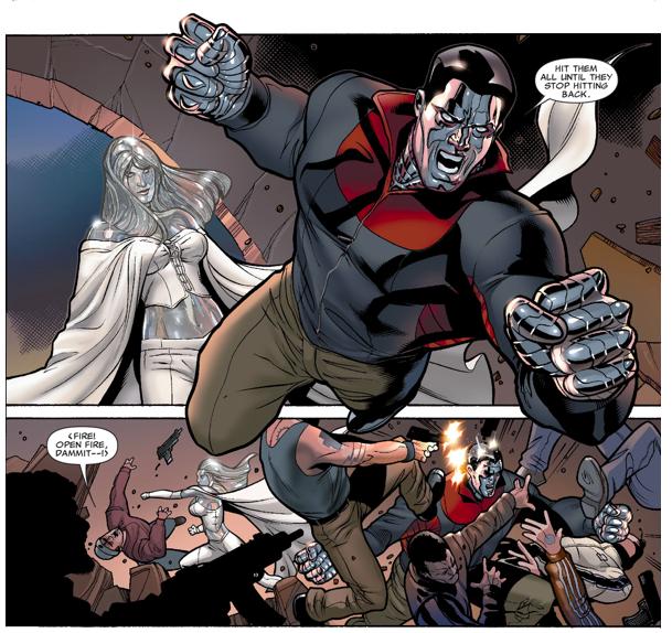 Colossus VS The Tattooed Man