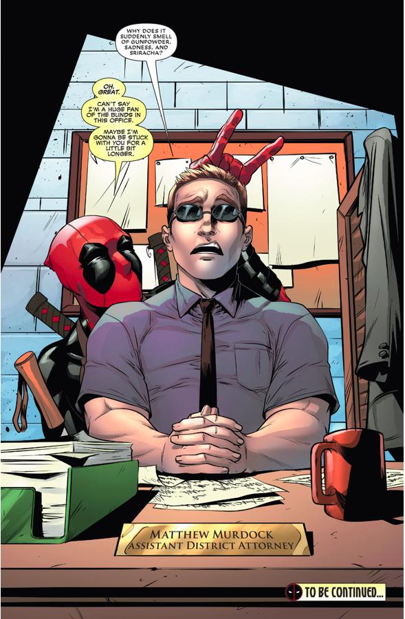 Daredevil Describes What Deadpool Smells Like