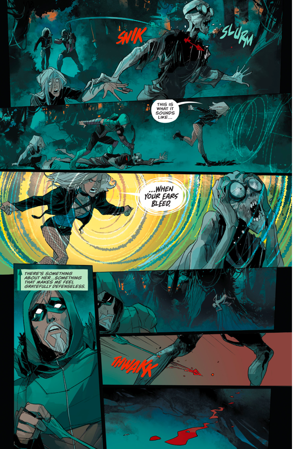 Green Arrow And Black Canary VS The Underground Men (Rebirth)