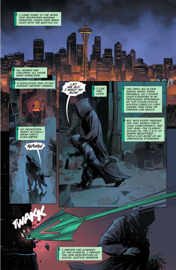Green Arrow Meets Black Canary (Rebirth)