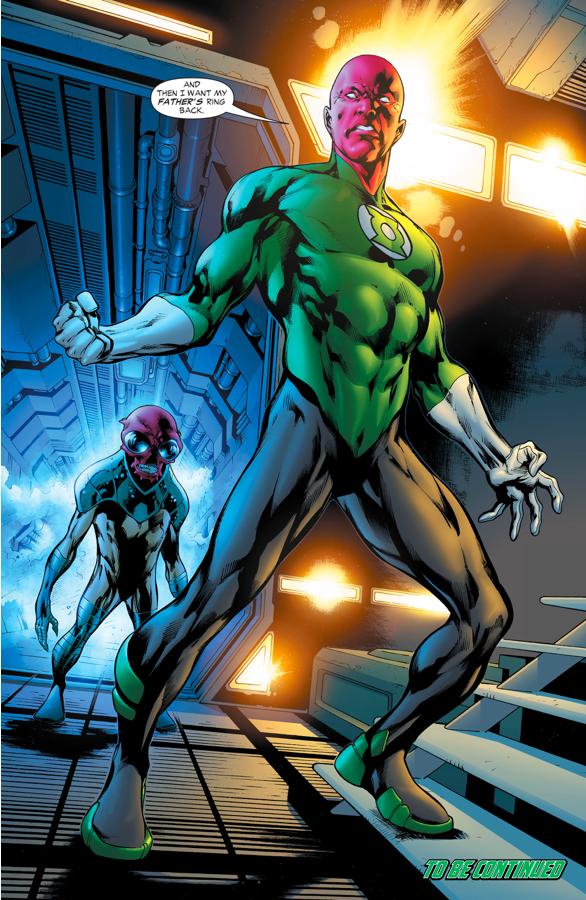 Green Lantern Amon Sur (Green Lantern Vol. 4 #13)