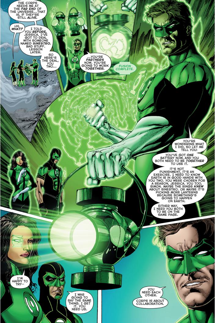 Green Lantern Hal Jordan Assigns Earth To Jessica Cruz And Simon Baz