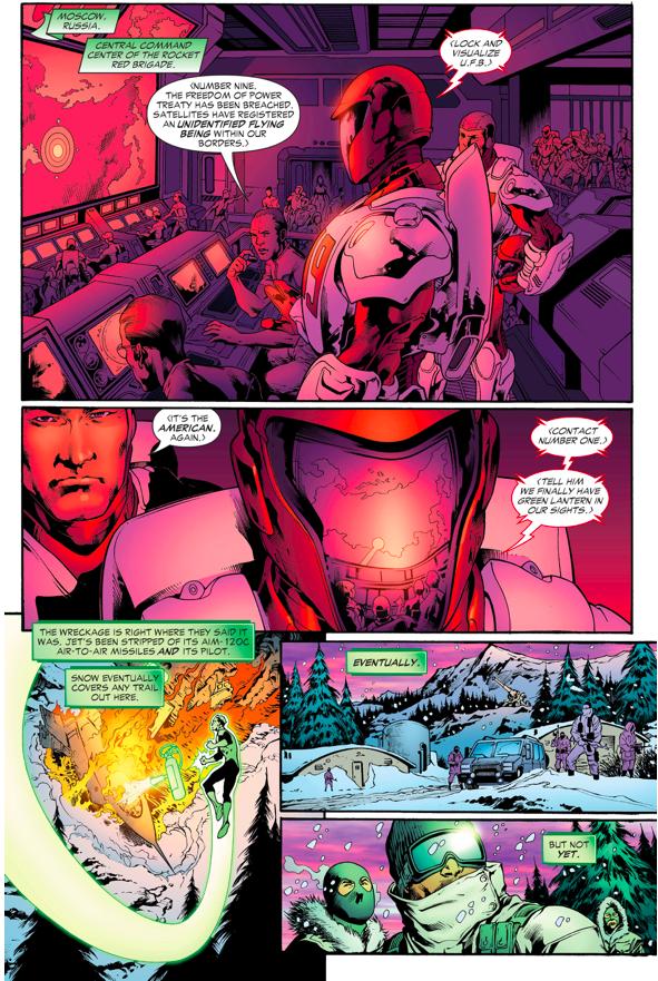 Green Lantern Hal Jordan VS Chechnyan Terrorists