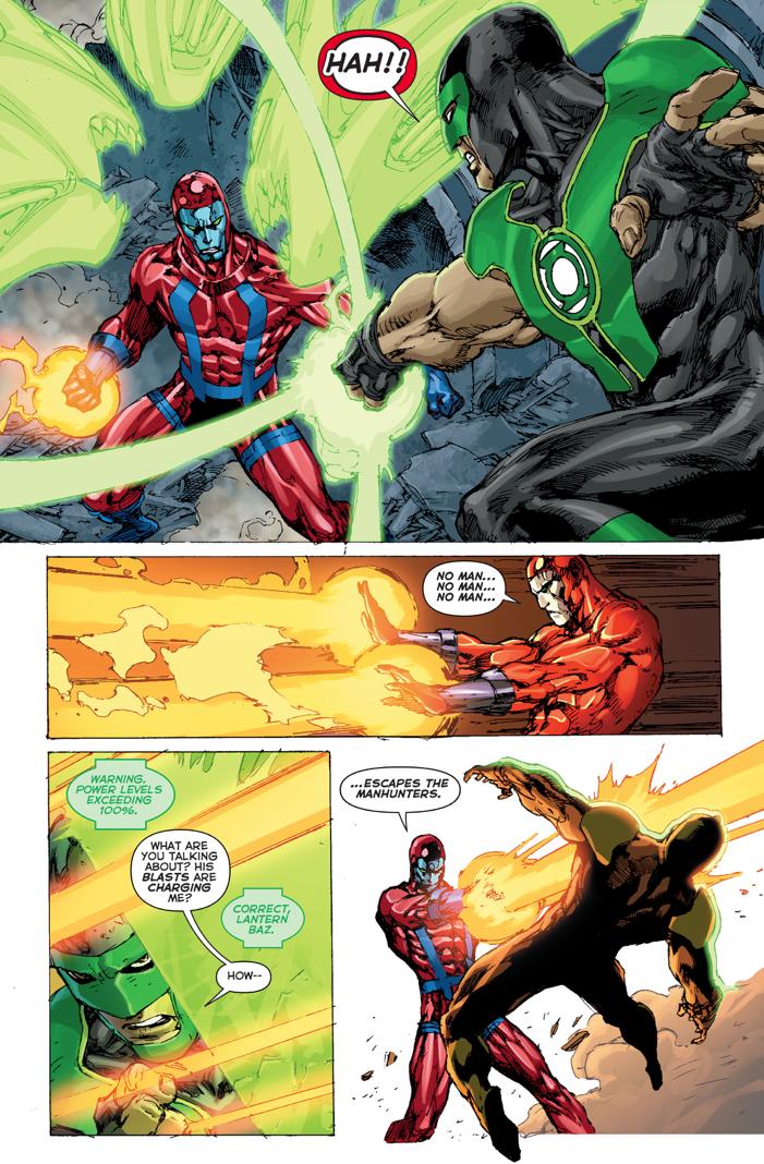 Green Lantern Hal Jordan's Test To Simon Baz And Jessica Cruz