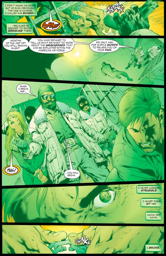 Hal Jordan's Captivity With Chechnyan Terrorists