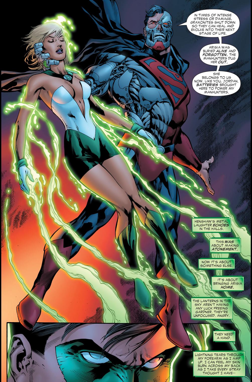 How Green Lantern Arisia Survived Death