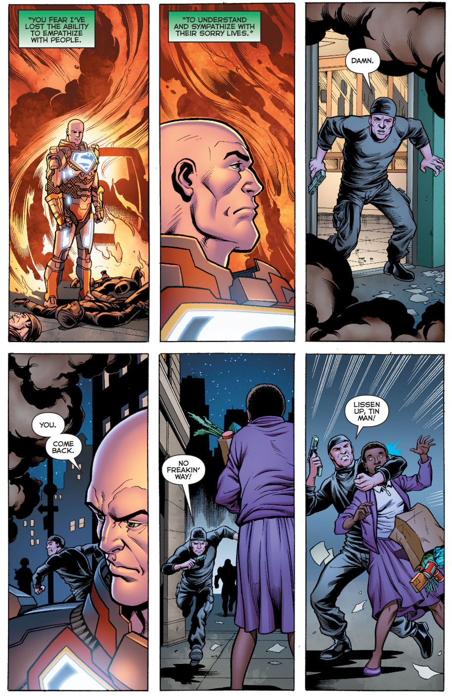 How Lex Luthor Handles A Hostage Situation