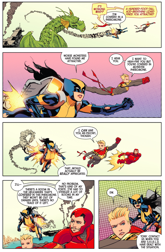 How Wolverine (Laura Kinney) Dealt With Fin Fang Foom