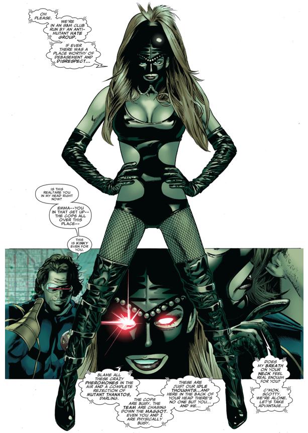 Madelyne Pryor Seduces Cyclops