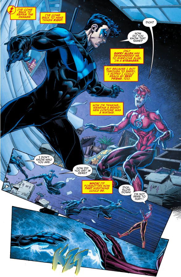 Nightwing Remembers Wally West (Rebirth)