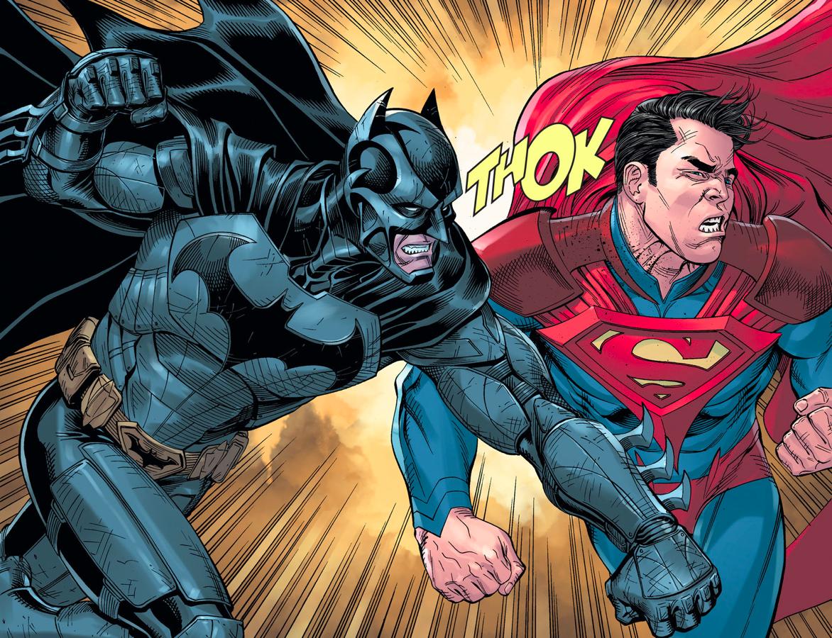 Superman VS Batman (Injustice Gods Among Us Year 5)