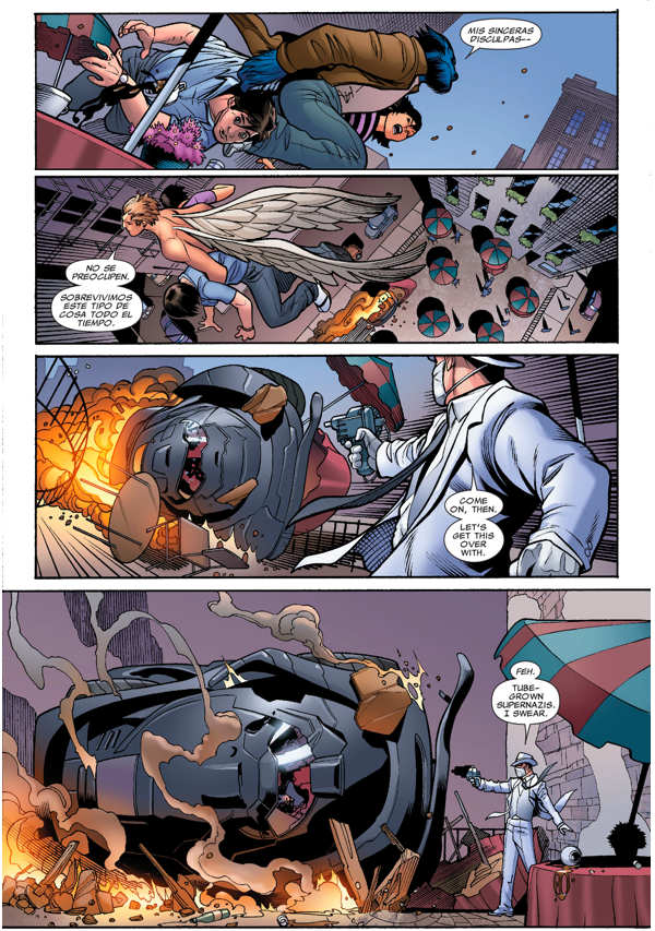 The X-Men Recruits Doctor Nemesis