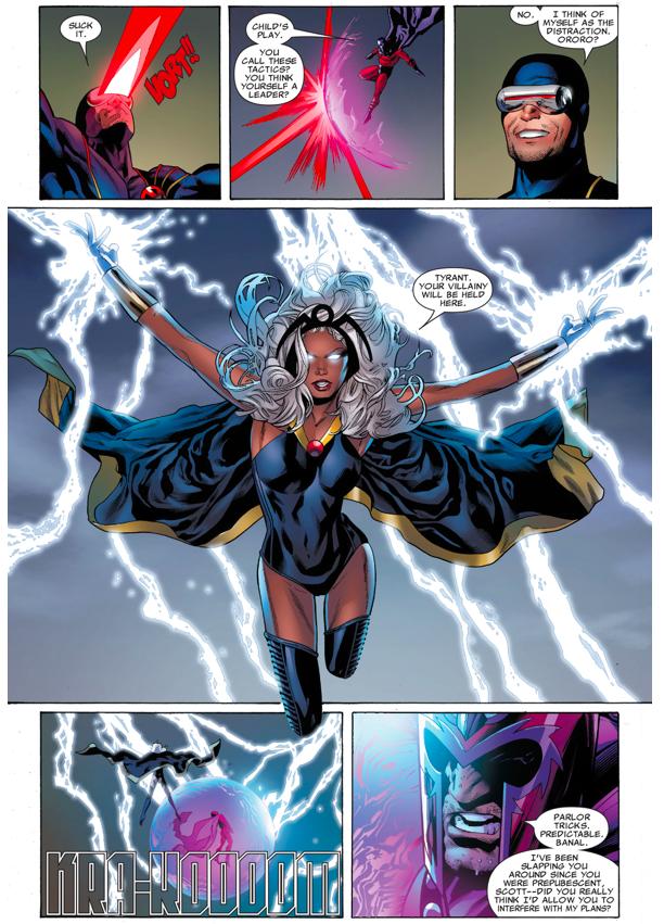 The X-Men VS Magneto (Uncanny X-Men #500)