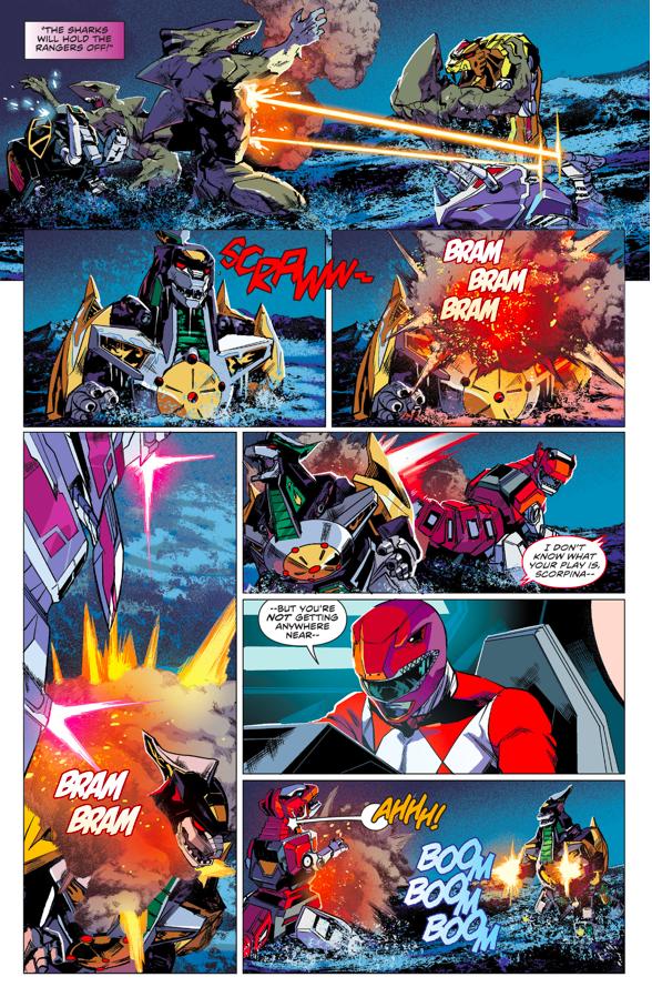 The Zords VS The Dragonzord
