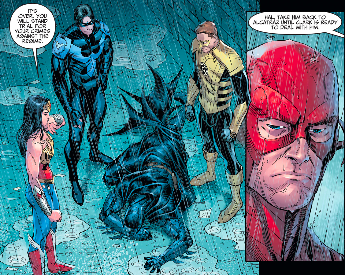 Why The Flash Helped Batman Escape The Regime