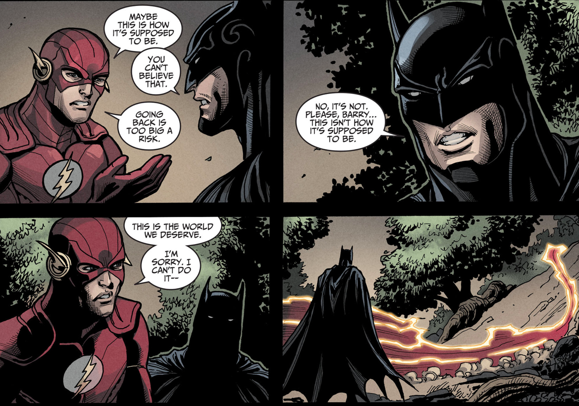 Why The Flash Refuses To Change The Past (Injustice Gods Among Us)