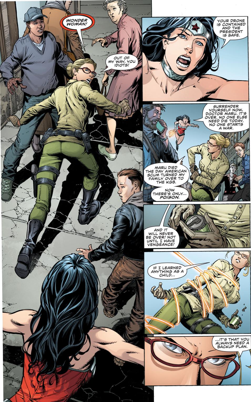 Wonder Woman VS Doctor Poison (New 52)