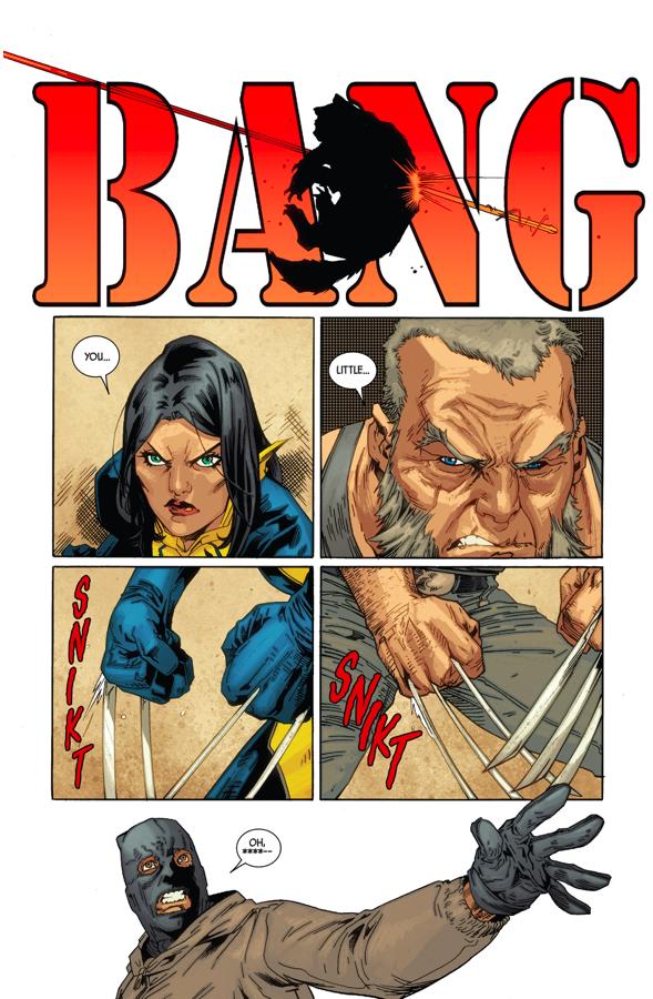 4 Wolverines VS 2 Burglars