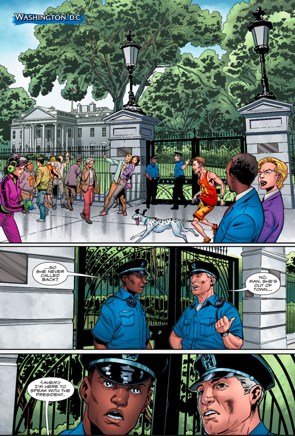 Aquaman Goes To Washington