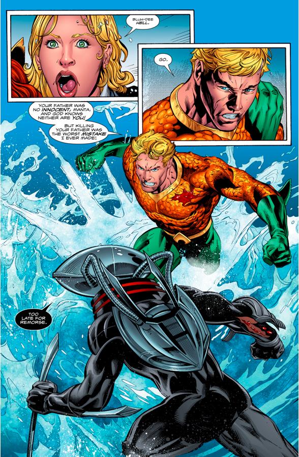 Aquaman VS Black Manta (Aquaman Vol. 8 #2)