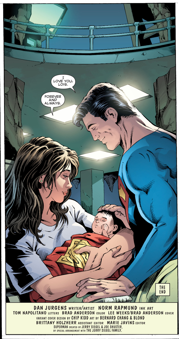 Birth Of Superman's Son