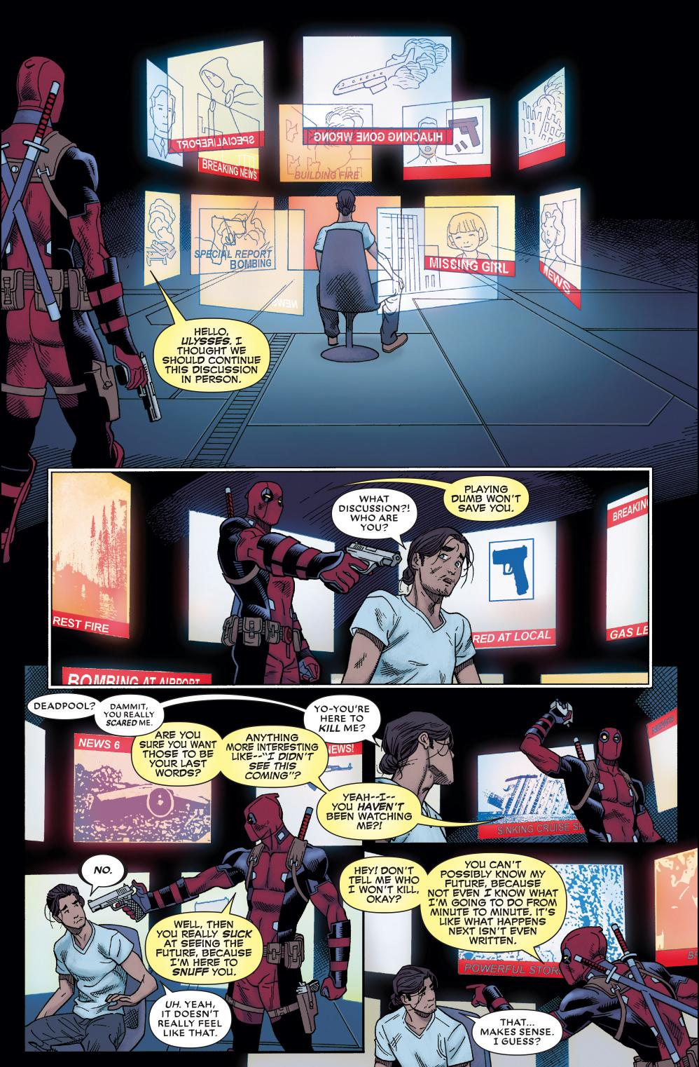 Deadpool Triest To Assassinate Ulysses
