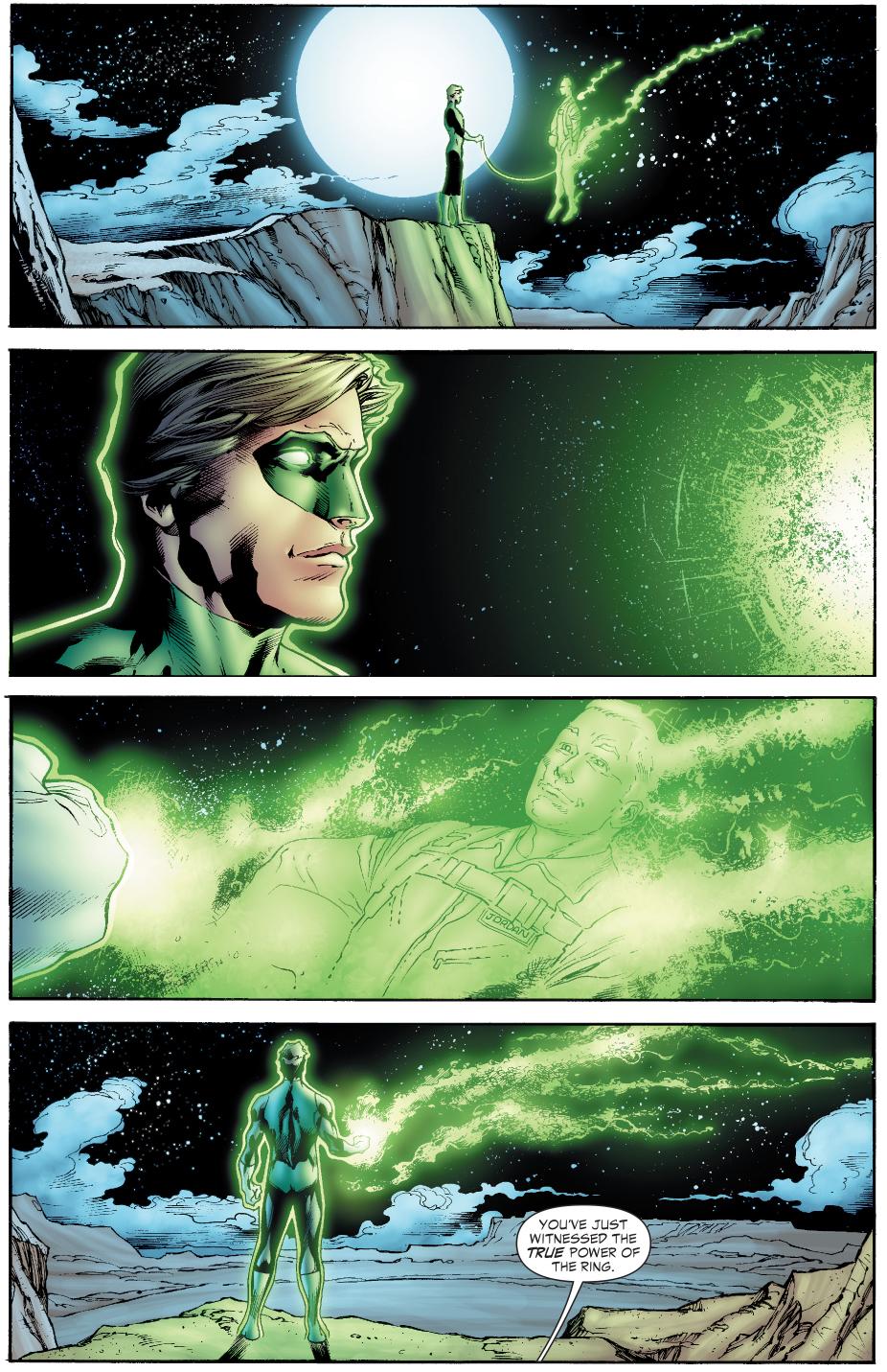 Hal Jordan And Sinestro's First Bonding Moment