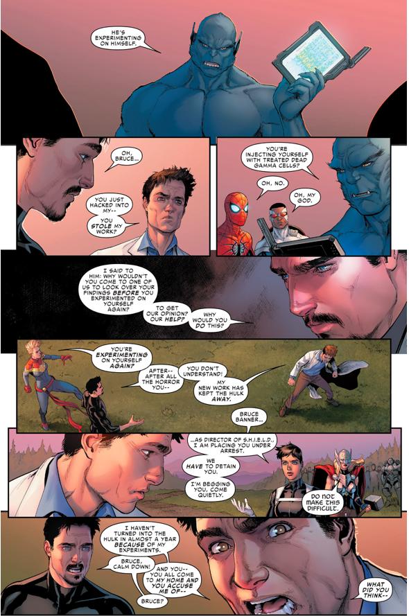 Hawkeye Kills Bruce Banner (Civil War II)