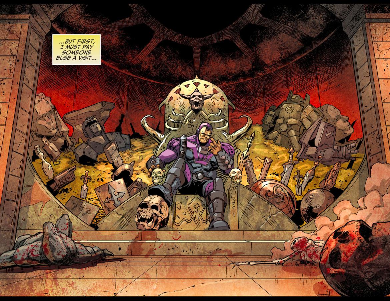Hawkman VS Mongul (Injustice Gods Among Us)