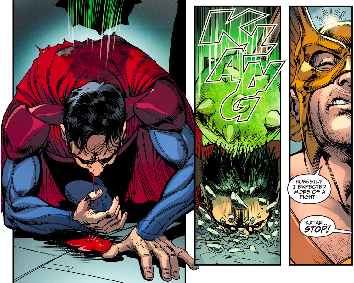 Hawkman VS Superman (Injustice Gods Among Us)