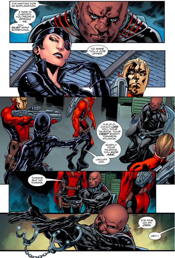 N.E.M.O Recruits Black Manta