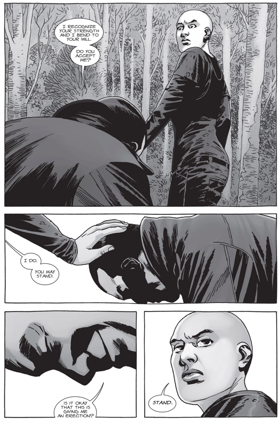 Negan Joins The Whisperers