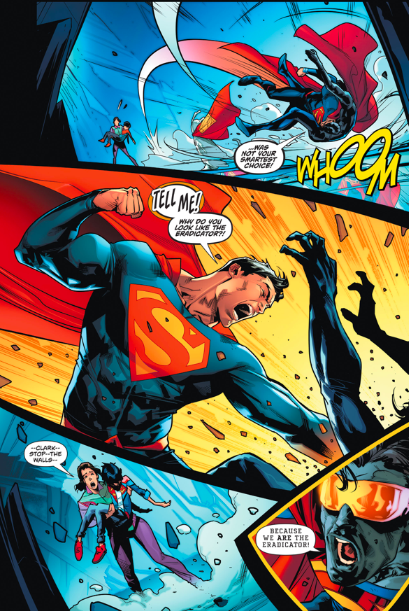 Superman Meets The Eradicator (Rebirth)