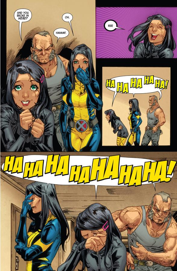 When Burglars Entered Wolverine's Home