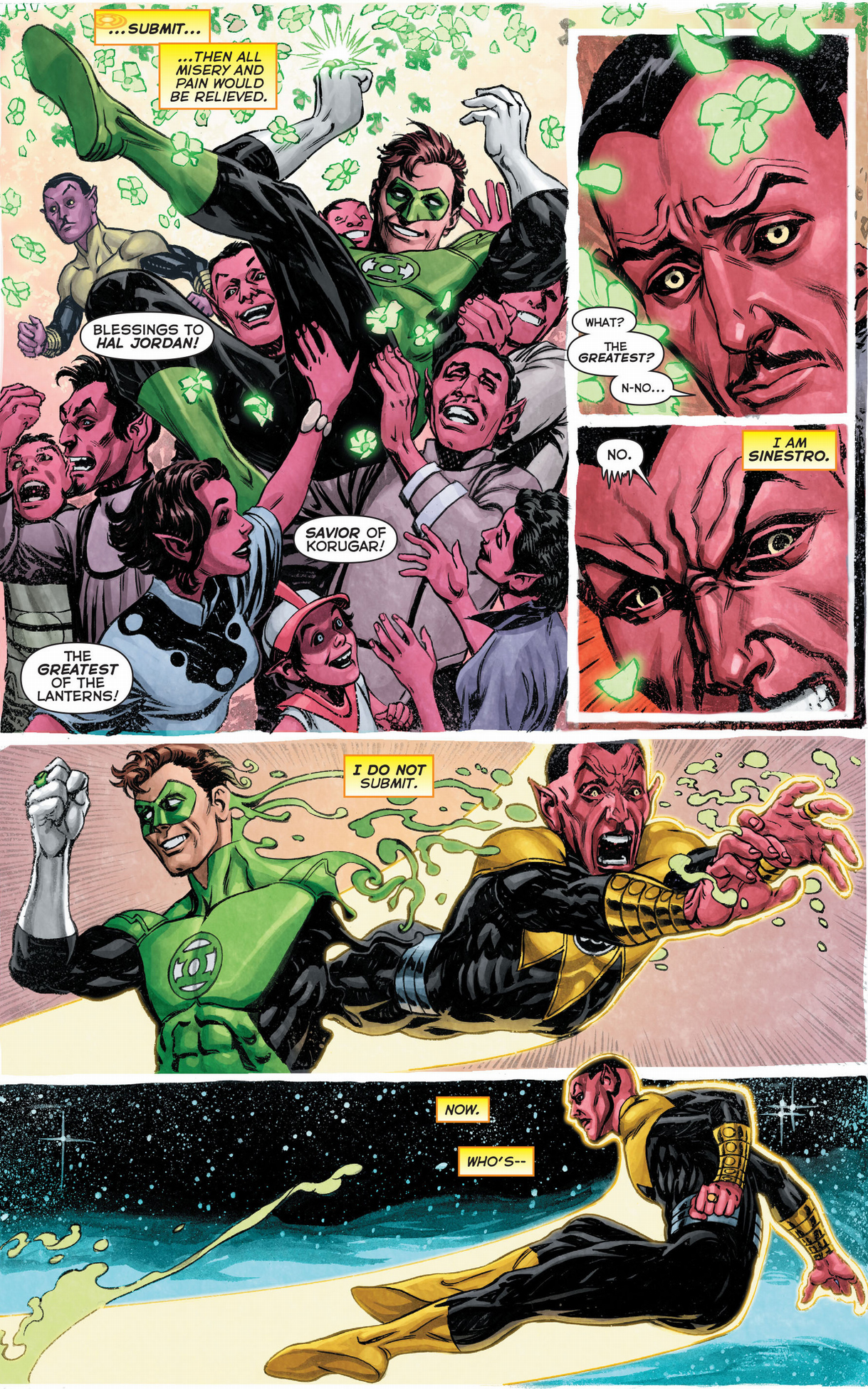 Why Sinestro Is Immune To The Paling's Purge