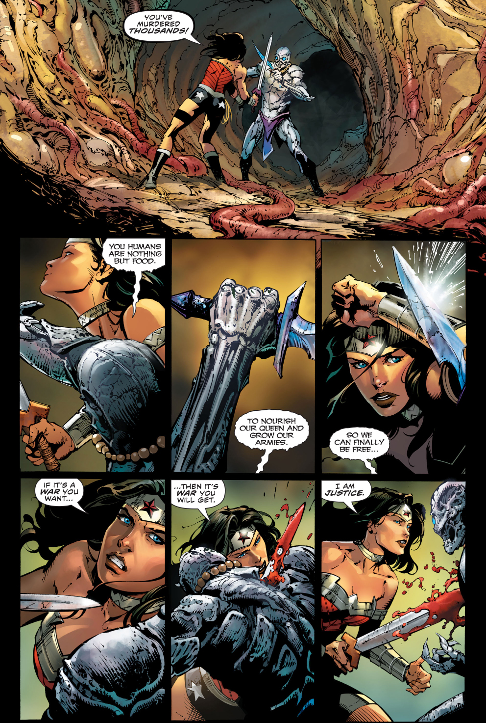 Wonder Woman's Wrath As God Of War