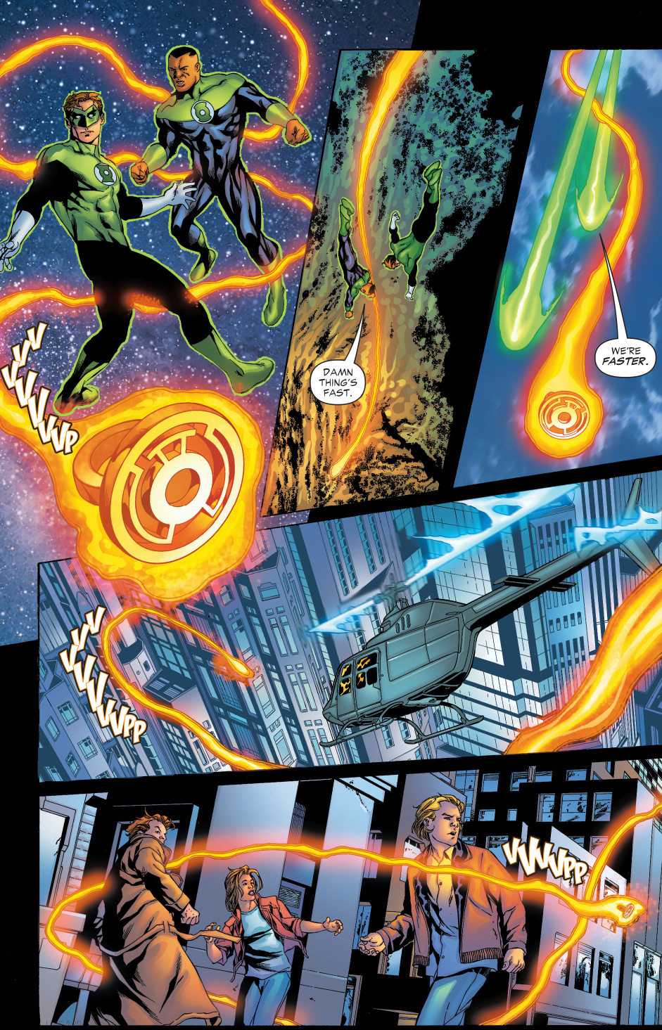 a sinestro corps ring chooses the scarecrow