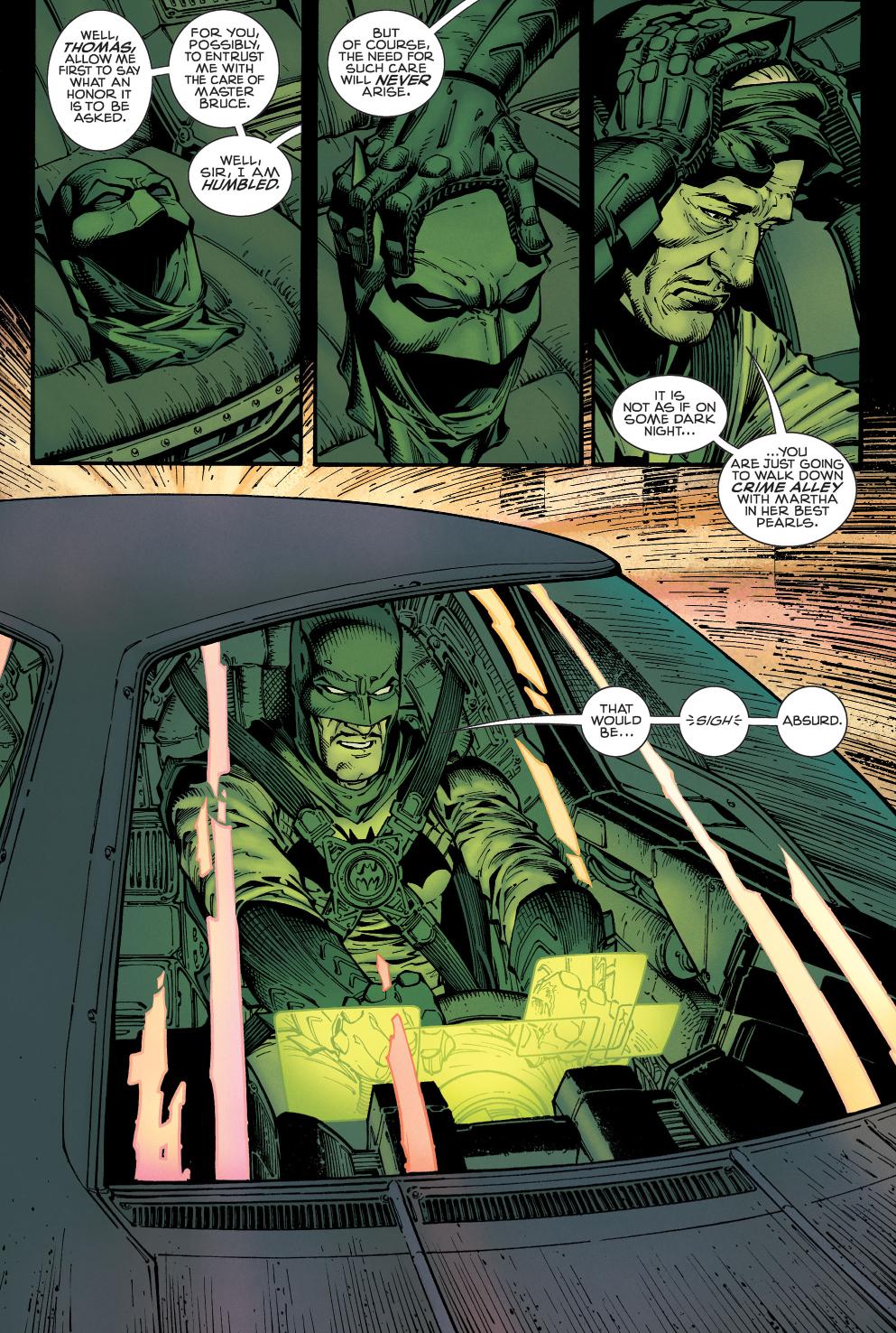 alfred pennyworth as batman