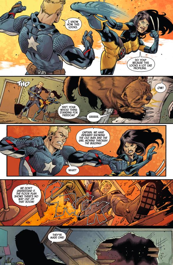 All New Wolverine VS Captain America